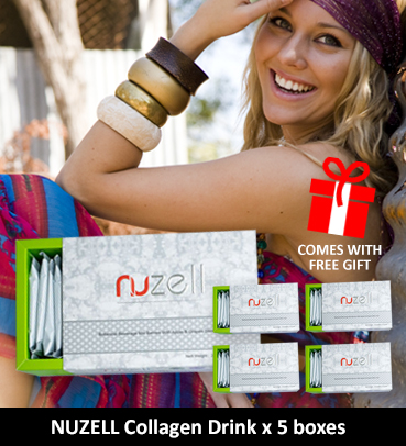 The Hally Shop - Nuzell Collagen Drink