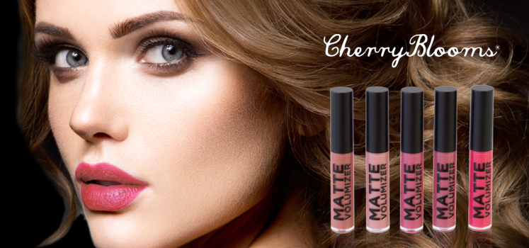 The Hally Shop Lips - Cherry Blooms