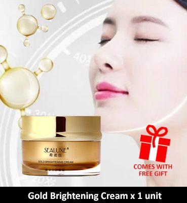 The Hally Shop Greenleaf SEALUXE Gold Brightening Cream