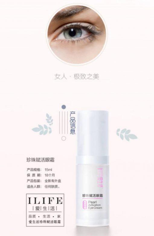 The Hally Shop iLife Pearl Activation Eye Cream
