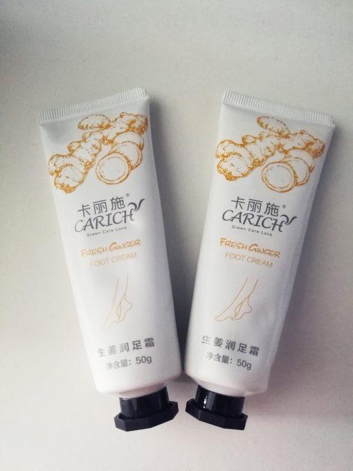 The Hally Shop Greenleaf Carich Fresh Ginger Foot Cream