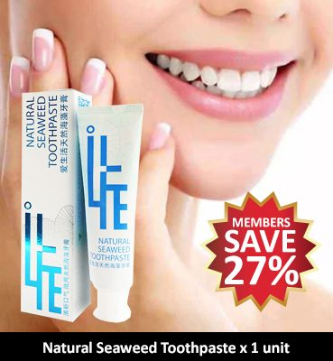 Greenleaf iLife Natural Seaweed Toothpaste